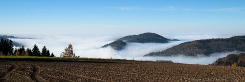 Brouillard dans la vallée
